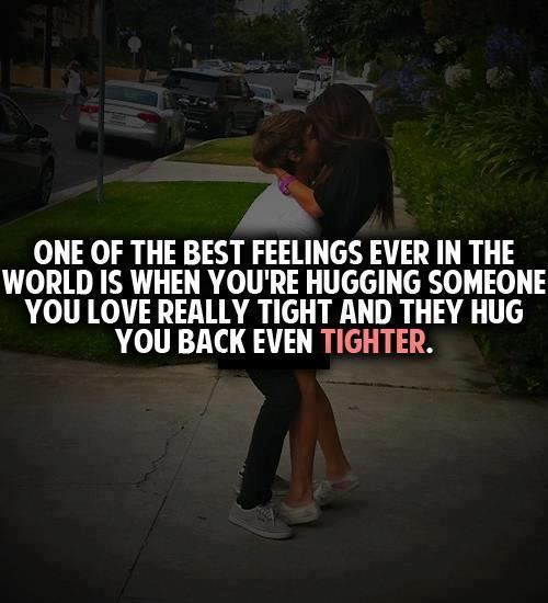 One Of The Best Feelings In The World Is When