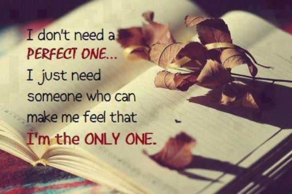 i just need someone to love