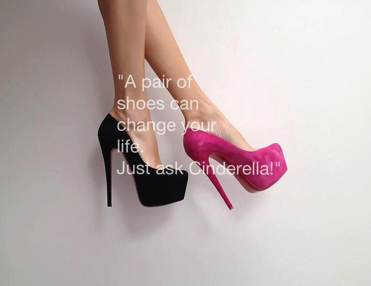 Yoddler A Pair Of Shoes Can Change Your Life Just Ask Cinderella