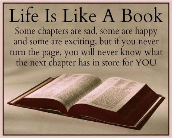 Yoddler Life Is Like A Book Some Chapters Are Sad Some Are Happy